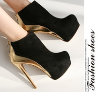 2014 autumn and winter boots  women's shoes high-heeled boots X008