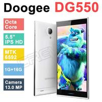 Original DOOGEE DAGGER DG550 MTK6592 Octa Core 1.7GHz Andriod 4.4 Phone 5.5 inch IPS OGS 13.0MP 1GB RAM 16GB ROM GPS Phone gift