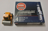 Super free shipping!! NGK IRIDIUM IX spark plug 2669 BKR9EIX, MADE IN JAPAN. 4PCS/LOT, VW, DAIHATSU MIRA,