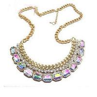 2014 New Style Hot Sale Fashion Retro Fake Collar Short Women Necklace Retro Design Luxury XLD120