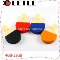 table tennis usb flash drive memory 4gb 8gb 16gb 32gb usb flash pendrive  stickers 2.0 usb memory card u disk