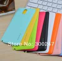 Fashion Brand Ultra-Thin Faux Leather Battery back Cover Case For Samsung Galaxy Note 3 N9000 H24