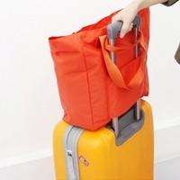 Free shipping 2014 New Korea Nylon Travel bag portable foldable waterproof  beach bag