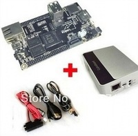 New Arrival! PC Cubieboard A20 Dual-core Development Board with Power Cable SATA Wire USB to TTL Line