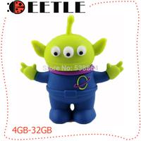 monster usb 2.0 flash memory card usb pen drive 4gb 8gb 16gb 32gb flash drive usb baby gift usb u disk