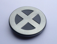 "NEW X-Men Superhero Metal ""X"" Costume Belt Buckle JF-B1016 suitable for 4cm wideth belt with continous stock"