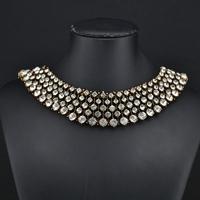 2014 New Kate Middleton necklace necklaces & pendants fashion luxury choker design crystal pendant necklace statement jewelry