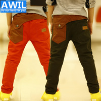 Free Shipping new 2014 autumn kids pants Autumn pants for boys children trousers 2-8 years old Retail