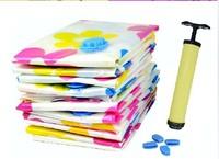 Thick vacuum storage compressed bags 1 hand pump quilt storage bag vacuum bag Down Jacket Pouch Housing bag