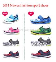 New 2014 summer Outdoor sport hiking cycling men walking shoes women men ultra-light running shoes Unisex shoes  fitness shoes