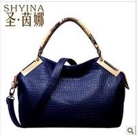 The beauty about bag 2014 new stone grain Our Lady recreation Shoulder Handbag woman bag
