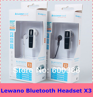 Stereo Bluetooth Headsets X3 Wireless Earphone Microphone For Android Phone Free Shipping