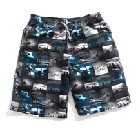 New 2014 Summer Brand Men's Loose Casual Beach Shorts, Fashion Men's Short Free Shipping Clothing Ali_Men-1003