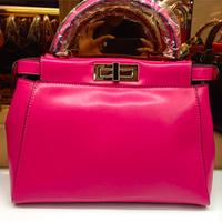 Free Shipping 2014 f bag genuine leather women's handbag fashion quality cowhide bag