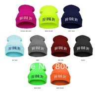 NEW !! 12colors Rum & Koke BAD HAIR DAY Beanie hat hiphop beanie Winter hat for Men/WOMEN 5pcs/lot free shipping