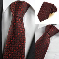polyester men's striped tie Free Shipping