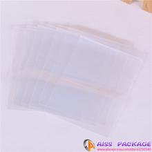 Loja AISS -clear saco , ziploc , 6x8cm , sacos de mercadorias de varejo, sacos de varejo , sacos de mercadoria barata ( 100pcs )(China (Mainland))