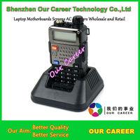 Wholesale free shipping UV-5RE plus  walkie talkie Two-Way Radio Plus 5W 128CH UHF + VHF FM VOX Dual Display UV5RE+ radio