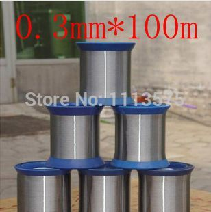 0.3mm diameter,soft condition,100meters,304,321,316 stainless steel wire,bright stainless steel wire,hot rolled,cold drawn(China (Mainland))