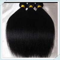 Muse Hair:Silky Queen 100% Cheap Brazilian virgin Hair 3bundles Mixed Bundles Color#1b Fast free shipping unprocessed human hair