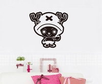 Free shipping Tony Chopper ONE PIECE Car Wall Stickers Japanese Decals Vinyl Decal Sticker Home Decoration