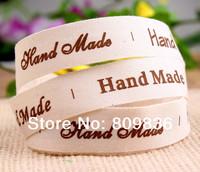 "15mm ZAKKA  cotton"" hand made"" ribbon,printing sewing  tape, Cotton fabric printing ribbons for DIY(ss-125)"