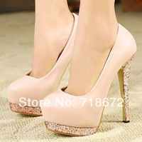 2014 new, ladies, 14 cm high heels, sexy, European style, stiletto shoes, pumps, free shipping