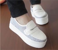 2014 new design women shoes Fashion Leisure Shoes cow Flats Ballet women genuine leather shoes four seasons women flats 625