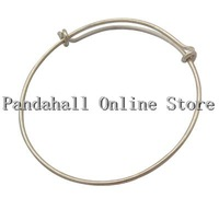 US Free Shipping! 50pcs Brass Bangle Making 61mm inner diameter 7mm wide
