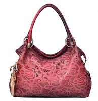 Selling Premium Women's Handbags, Ethnic Style Embroidery Hollow Shoulder Bag, Peacock Pattern Handbags Wholesale, free Shipping