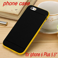 Newest Soft Back Cover TPU Plastic Hybrid Case for iPhone 6 Plus Phone Bag Bumblebee Cover for iPhone6 5.5""