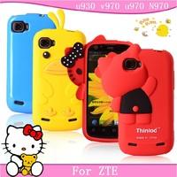 For zte u930 mobile phone case for zte v970 protective case for zte u970 n970 protective case silica gel soft