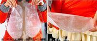 6pcs moisture Foot Callus Bamboo Vinegar peeling renewal remove dead skin Cuticles Heel smooth exfoliating feet mask sticker