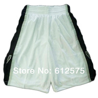 Free Shipping Spurs  White Basketball jersey cropped trousers  casual shorts beach shorts  Basketball shorts