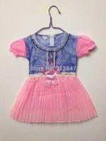 New!! Cute Kid's Dresses For Baby Girl Fashion Print Little Girls Dress Cute Summer Baby Girl Dress Retail  Infant Dress Girl