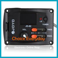JOYO JE-62 Digital Ukulele EQ Equalizer Pickup Tuner With LED Indicator