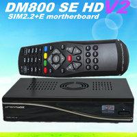 Free shipping 2015 newest tv receiver dm800se V2 dm800hd se V2 wifi Digital Enigma 2 Linux OS satellite receiver
