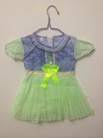 New!! Kid's Dresses Print Little Girls Dress Cute Summer Baby Girl Dress Retail Infant Dress Girl Baby Clothing For Girl
