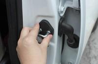 Car Door lock decoration protective cover Fit For RAV4 2013 2014 4pcs per set