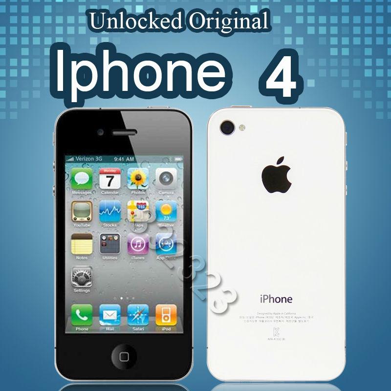 Apple A4 32G ROM 8MP Camera WIFI 3G IOS OS Unlocked Used APPLE Phone