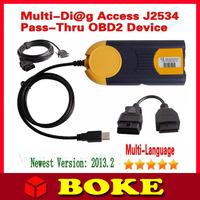 2015 New Arrival V2013.2 Professional Multi-Di@g Access J2534 OBD Multi Diag Multi-Diag Access j2534 In Stock Fast Shipping