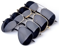 Free Shipping Fashion Brand 2014 New Vintage Driving Glasses Outdoor Sport Cycling Eyewear Polarized Sunglasses Men With Box