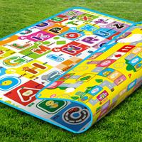 New Arrival! Quality Baby Play Mat 200*160CM Fruit Millionaire Game Child Beach Mat Picnic Carpet Baby Crawling Carpet CM-013