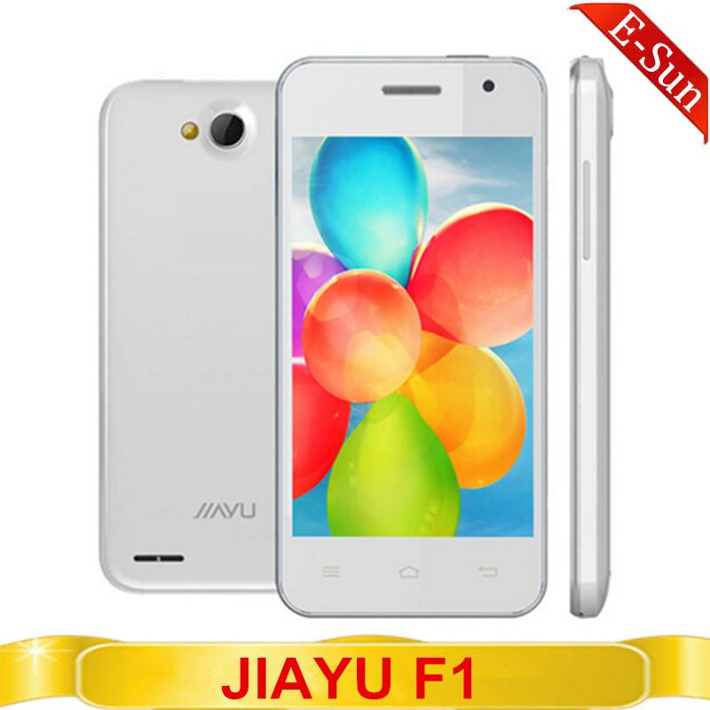 3g wcdma. jiayu f1 f1w mtk6572 dual core 1. 3 512 ghz ram. 4g rom 2. 0+5.0mp 2400 mah. jiayu téléphone mobile russe espagnol polonais