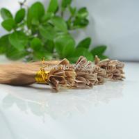 "Remy A Stick Tip 100 Strands 24""=61cm Long 1.0g/s 100% Human Hair Extensions #12 Light Brown&100g"