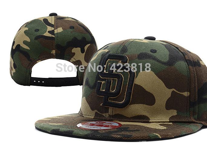 1 pc acrylic hot sale Adjustable Baseball San Diego Padres snapback hats Red white Black Purple(China (Mainland))