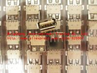 New original 100%,( High temperature ) SMD A female USB socket USB-A type connector female 100pcs/Lot