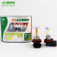 New XENCN H16 12V 19W 2300K Gloden Yellow Light Car Headlights Reliable Quality Stylish Look Bulbs All Season Fog Halogen Lamp