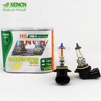 New XENCN HB4 9006 12V 51W 2300K Gloden Yellow Light Top Quality Car Bulb All Season Fog Driving Halogen Lamp Strong Penetration