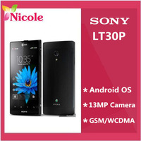 Sony Xperia T LT30P Original Unlocked Mobile Phone Refurbished 16GB Dual-core 3G  WIFI GPS 4.55'' 13MP By SG post  free shipping